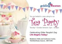 Older Persons Day Tea Party Invitation