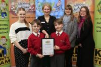 Walk to School Awards Feb 2015
