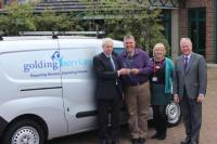 UKHA Award Golding Services Van