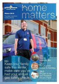Winter 2019 Home Matters Front Page