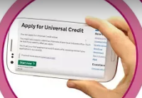 Apply for Universal Credit Video logo
