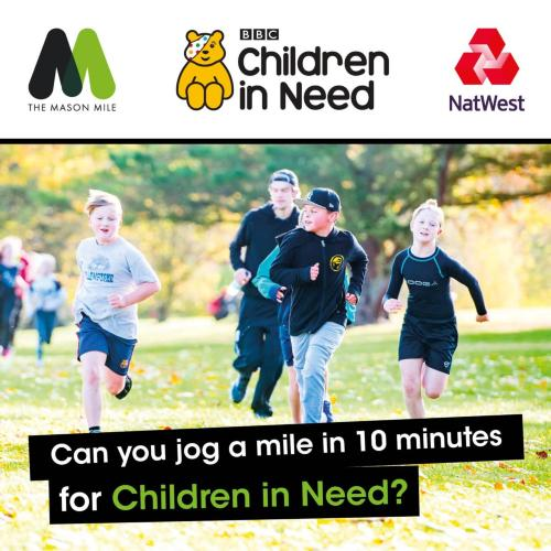 The Mason Mile: Special Event for BBC Children in Need
