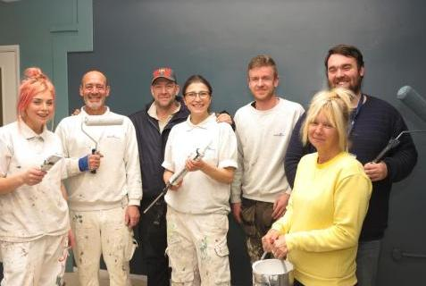 Shepway Com Centre Facelift Staff