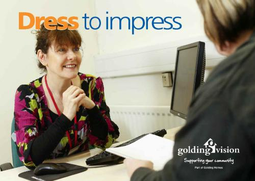 Dress to Impress Postcard front page