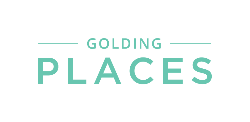 Golding places logo